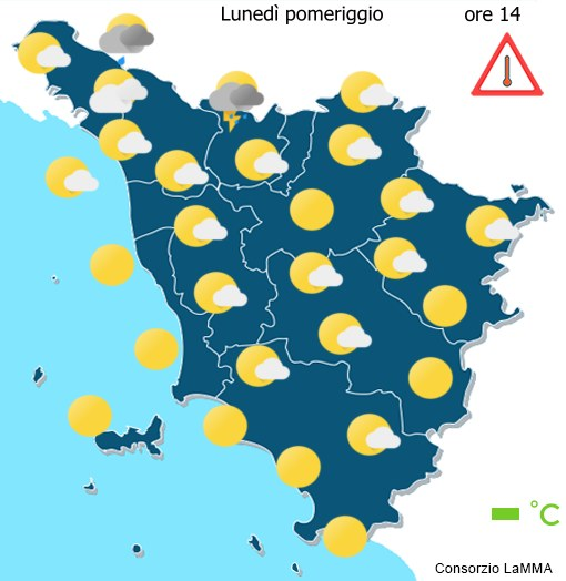 Meteo in Tuscany